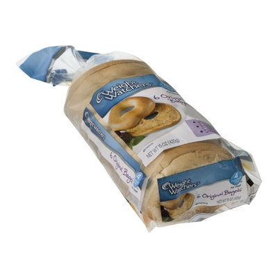 Weight Watchers Bagels Original - 6 CT