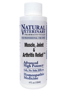 Natural Veterinary Pharmaceuticals Muscle, Joint & Arthritis Relief 4 oz