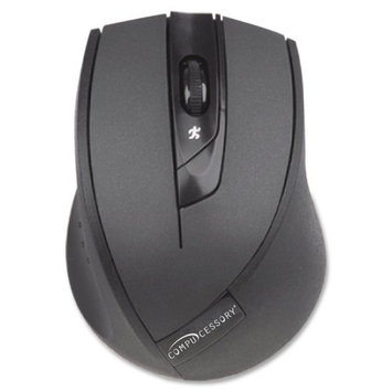 Compucessory CCS51554 VTrack 4 Button Wireless Mouse