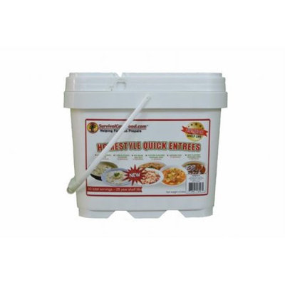 SurvivalCaveFood SCFENTREE60 Homestyle Quick Entrees meal bucket, 60 svg
