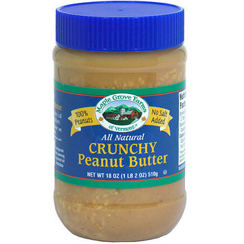 Maple Grove Farms All Natural Crunchy Peanut Butter, 18 oz (Pack of 12)