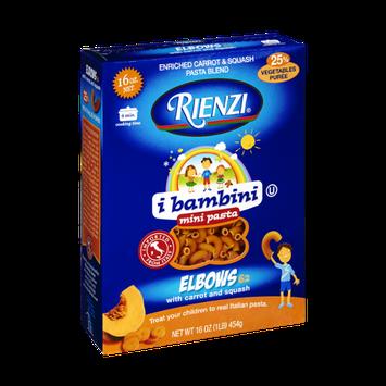 Rienzi Elbows with Carrot and Squash Mini Pasta