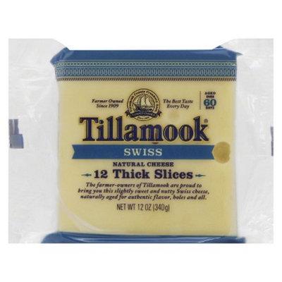 Tillamook Cheese Tillamook Swiss Thick Slices 12 ct
