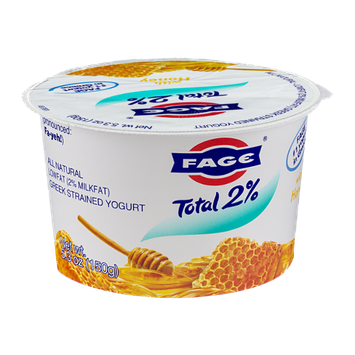 Fage Total 2% Lowfat Greek Strained Yogurt with Honey