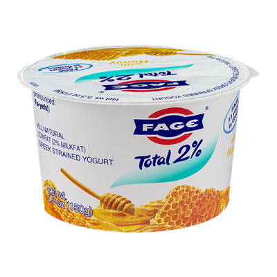 Fage Total 2% Lowfat Greek Strained Yogurt with Honey