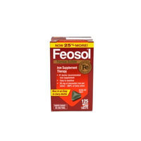 Feosol Iron Supplements, 125 Count