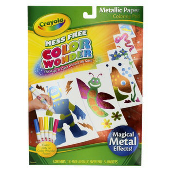 Crayola Color Wonder Metallic Paper & Markers