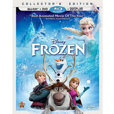 Frozen (Blu-ray + DVD + Digital HD) (Widescreen)