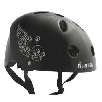 Boneshieldz Youth  Bomber Helmet - Black