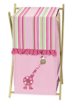 Sweet Jojo Designs Jungle Friends Collection Laundry Hamper