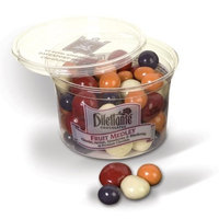 Chocolate Covered Fruit Medley Dragées - 14oz Tub - by Dilettante (2 Pack)