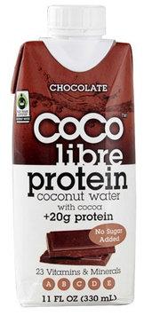 Coco Libre Protein Coconut Water Chocolate 11 fl oz