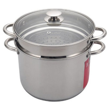 Chefmate Stainless Steel Pasta Pot with Lid
