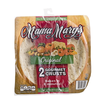 Mama Mary's Gourmet Crusts Original - 2 CT