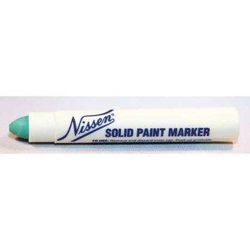 Nissen Paint Marker, Green,5/16 in. Tip Size Model: 00305