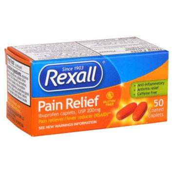 Rexall Pain Relief Ibuprofen Caplets - 50 ct