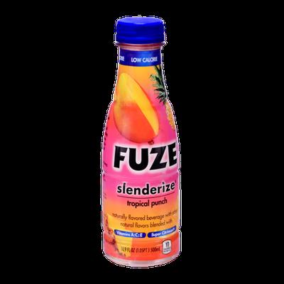 Fuze Slenderize Tropical Punch Flavored Beverage