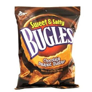 BUGLES CHOCOLATE PEANUT BUTTER 3.25 oz Each ( 7 in a Pack )