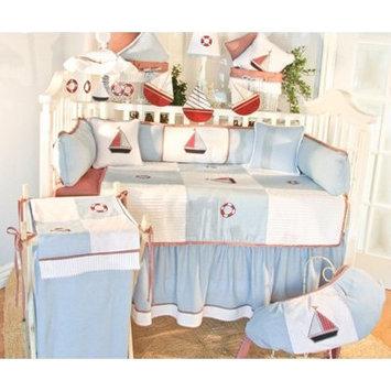 Brandee Danielle Sail Away 4 Piece Crib Bedding Set