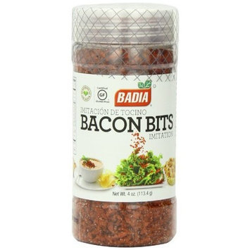 Badia Imitation Bacon Bits, 4-Ounce (Pack of 12)