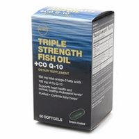GNC Triple Strength Fish Oil + Co Q-10