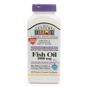 21st Century Enteric Coated Fish Oil 1000mg