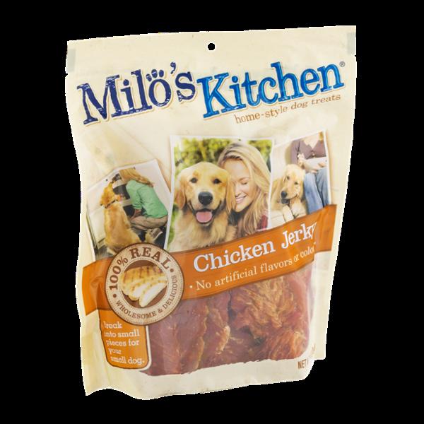 Milo's Kitchen Home-Style Dog Treats 100% Real Chicken Jerky