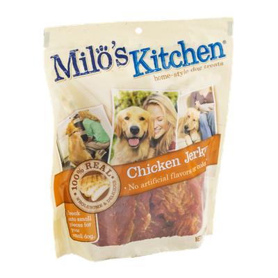 Milo's Kitchen Home-Style Dog Treats 100% Real Chicken Jerky
