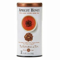 The Republic Of Tea Apricot Honey Red Tea Full-Leaf, 3.5 Ounces/50-60 Cups