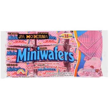 La Moderna Strawberry Mini Wafers - 20 Bags (13.3 oz ea)