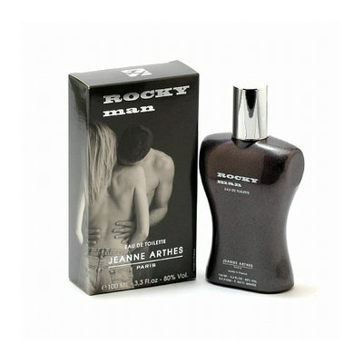 Rocky Man by Jeanne Arthes Eau De Toilette Spray 3.4 Oz