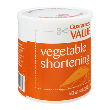 Guaranteed Value Vegetable Shortening
