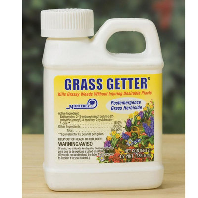 Monterey Grass Getter, .5 Pint