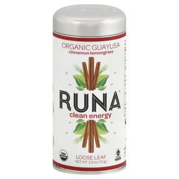 Runa Organic Guayusa Loose Leaf Tea Cinnamon Lemongrass 2.5 oz