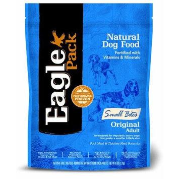 Eagle Pack Natural Pet Food, Original Adult Pork Meal & Chicken Meal Small Bites Formula for Dogs, 6 lb Bag