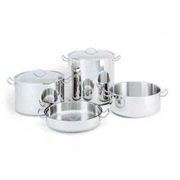 World Cuisine 11009-45 Stainless Steel Rondeau Pot 18 Qts.