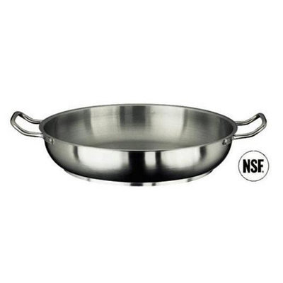 Paderno World Cuisine 11115-28 Paella Pan Stainless Steel