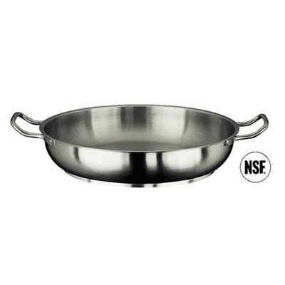 Paderno World Cuisine 11115-32 Paella Pan Stainless Steel