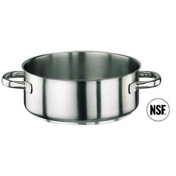 Paderno World Cuisine 11009-60 Rondeau Stainless Steel No Lid