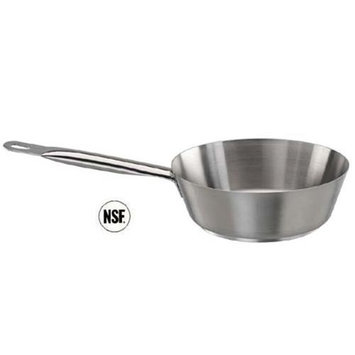 Paderno World Cuisine 11012-18 Splayed SautT Pan Stainless Steel