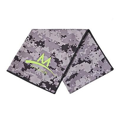Mission Athletecare Enduracool Tech Knit Towel [High Vis Coral, Large]