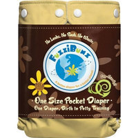 FuzziBunz One Size Diaper Big Sky, 10-45 Pounds (Discontinued by Manufacturer)
