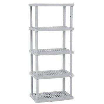 Suncast 5-Shelf Utility Unit - Gray