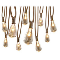 allen + roth 13-ft 10-Light White Plug-In Bulb String Lights SL10E