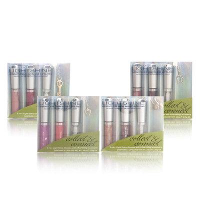 Prestige Cosmetics Prestige Lightshine Lipgloss Minis + Accessory (Elba-Martinique-Cabo)