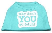 Ahi You Go Fetch Screen Print Shirt Aqua Med (12)