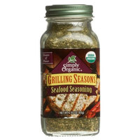 Simply Organic Organic Grilling Seasons Seafood Seasoning Certified Organic, 2.93-Ounce Container