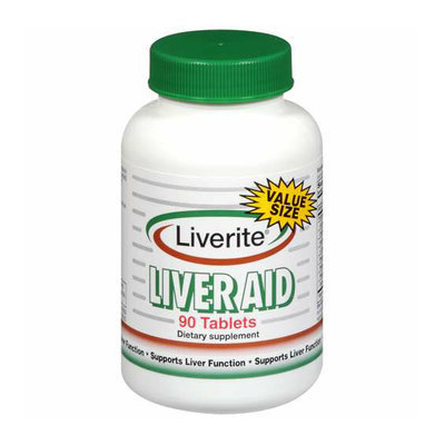 Liverite Liver Aid Dietary Supplement 90 ct
