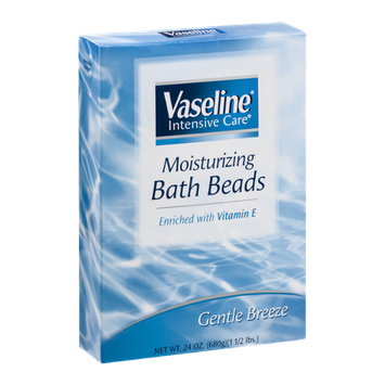 Vaseline Intensive Care Moisturizing Bath Beads Gentle Breeze