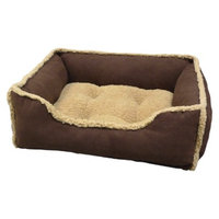 Arlee Home Fashions Canine Creations Lounger Puggz Pet Bed - Bark (26x22